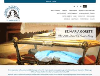 mariagoretti.com screenshot