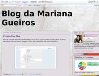marianadgueiros.blogspot.com.br screenshot