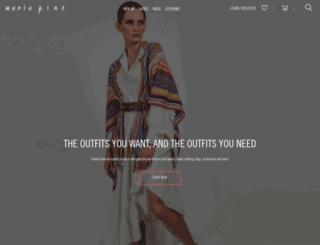 mariapino.com screenshot