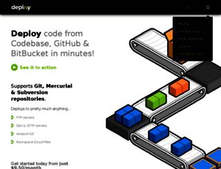 marias-place.deployhq.com screenshot