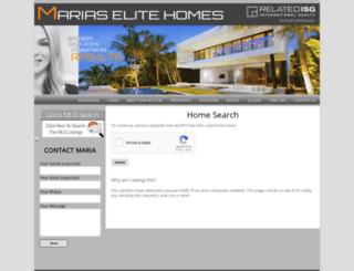 mariaselitehomes.idxbroker.com screenshot