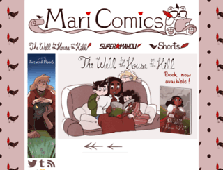 maricomics.com screenshot
