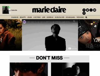 marieclairekorea.com screenshot