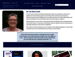 mariegale.com screenshot