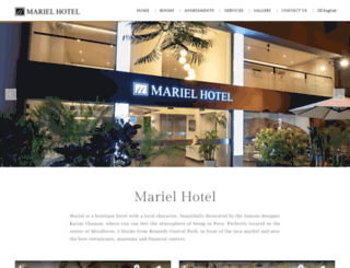 mariel-hotel.com screenshot