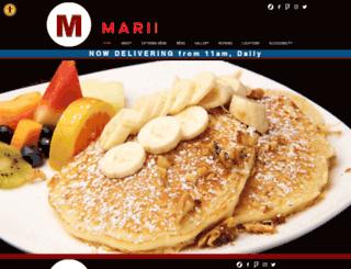 mariesgourmet.com screenshot