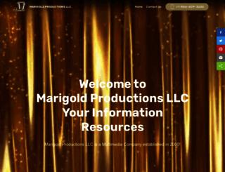marigoldproduction.com screenshot