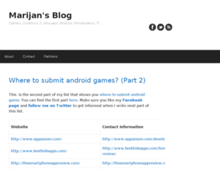marijansblog.com screenshot