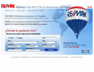 marina.remax.es screenshot