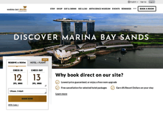 marinabaysands.com screenshot