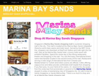marinabaysands.insingaporelocal.com screenshot