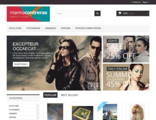 marinacontreras.com screenshot