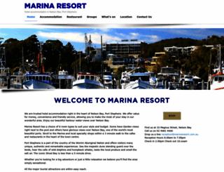 marinaresort.com.au screenshot