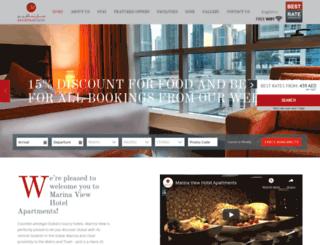marinaviewhotel.com screenshot