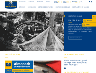 marinbreton.com screenshot