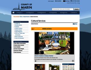 marincenter.org screenshot