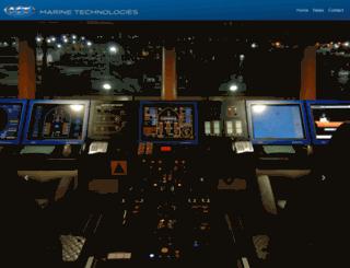 marine-technologies.com screenshot