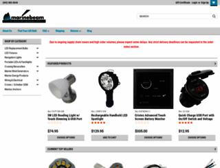 marinebeam.com screenshot