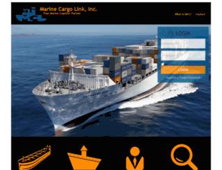 marinecargolink.com screenshot