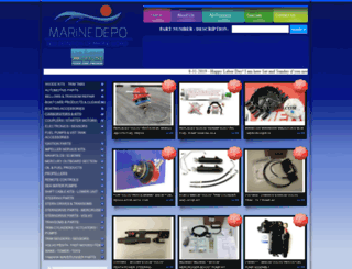 marinedepo.com screenshot