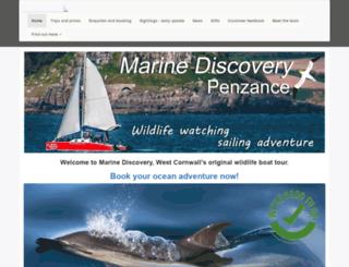 marinediscovery.co.uk screenshot