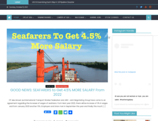marinersgalaxy.com screenshot