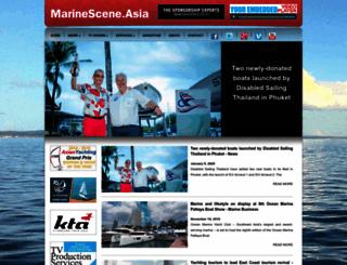 marinescene.asia screenshot