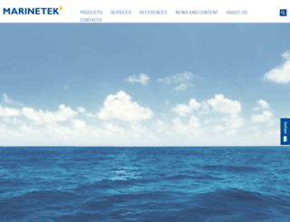 marinetekgroup.com screenshot