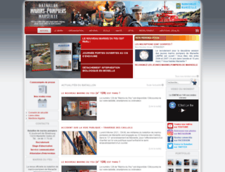 marinspompiersdemarseille.com screenshot