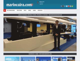 mariocaira.com screenshot