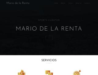 mariodelarenta.com screenshot