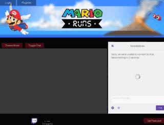 marioruns.com screenshot