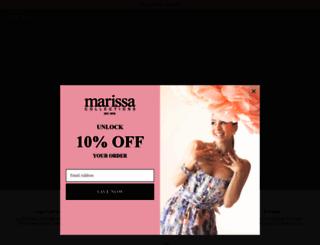 marissacollections.com screenshot