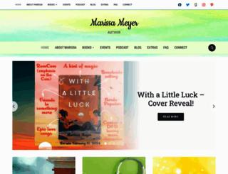 marissameyer.com screenshot