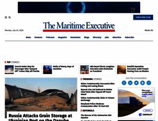 maritime-executive.com screenshot