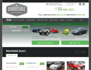 maritimeauto.com screenshot