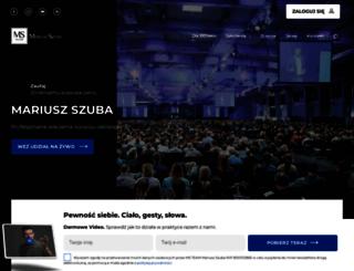 mariuszszuba.pl screenshot