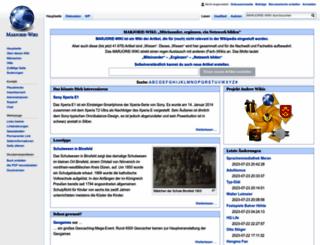 marjorie-wiki.de screenshot