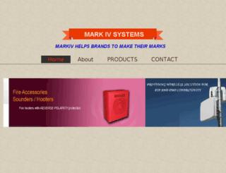 mark-iv.in screenshot