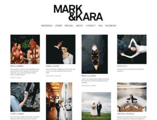 markandkara.com.au screenshot