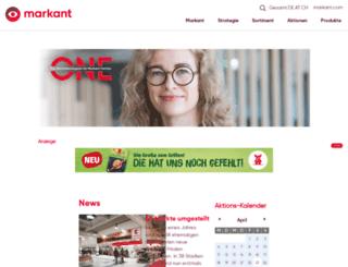 markant-magazin.de screenshot