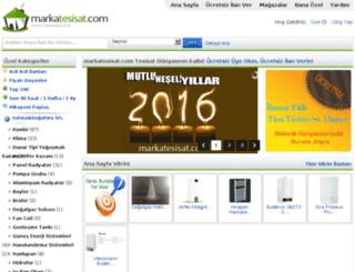 markatesisat.com screenshot