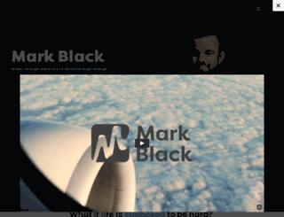 markblack.ca screenshot