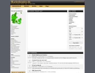 markedsindex.dk screenshot