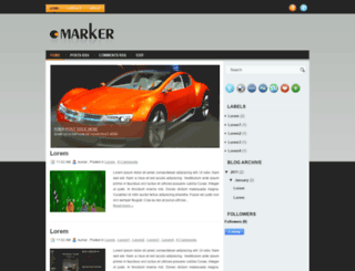 marker-btheme.blogspot.com screenshot
