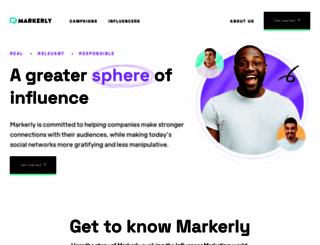 markerly.com screenshot