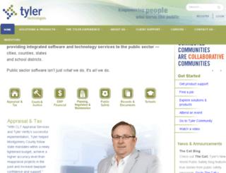 market.tylertech.com screenshot
