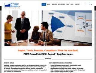 marketdataenterprises.com screenshot