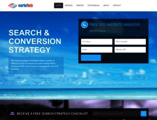 marketech.com screenshot