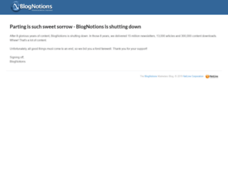 marketers.blognotions.com screenshot